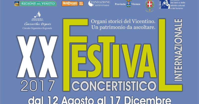 XX FESTIVAL CONCERTISTICO INTERNAZIONALE 2017